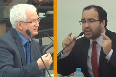Vereadores Carlos Mariucci e Jean Marques Maringá
