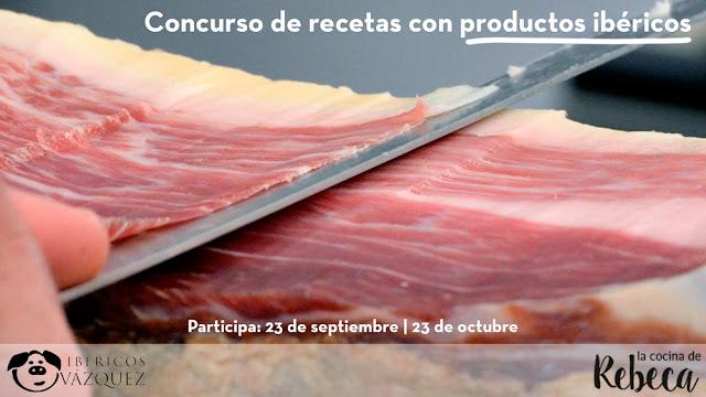 Concurso de recetas con productos ibéricos