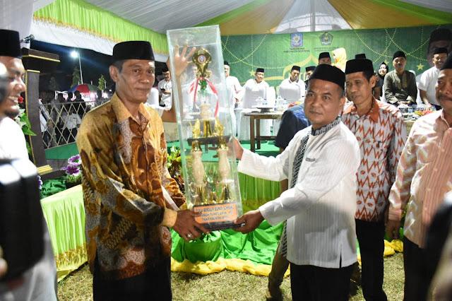 Liliriaja Boyong Juara Umum MTQ Tingkat Kabupaten