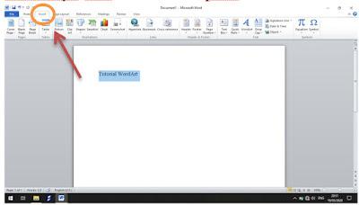Membuat WordArt di MS Word