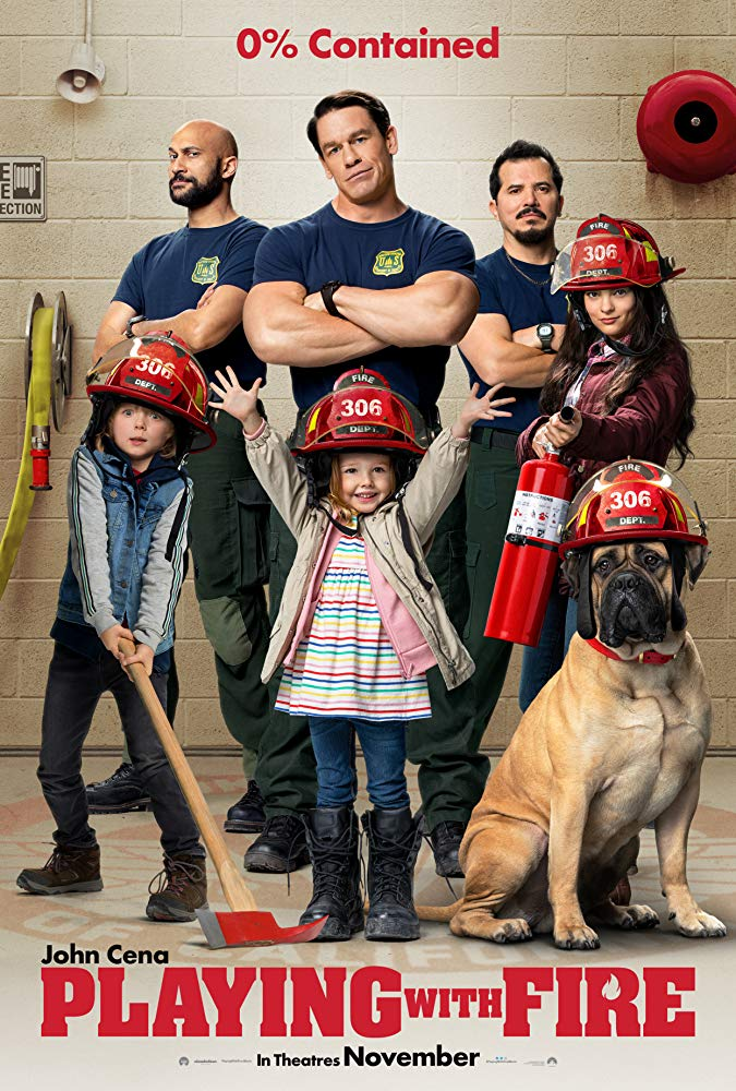 Playing With Fire, John Cena, John Leguizamo, Comedy, Family, Movie Review by Rawlins, Rawlins GLAM