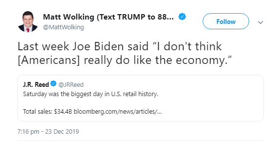 Biggest Biden Gaffe of 2019