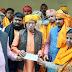 श्री राम जन्मभूमि तीर्थ क्षेत्र निधी समर्पण अभियान में निकली भव्य शोभा यात्रा