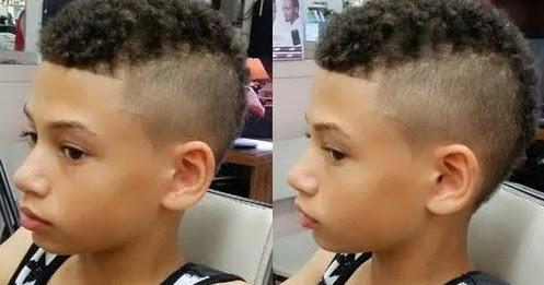 foto rambut pendek anak kecil kribo