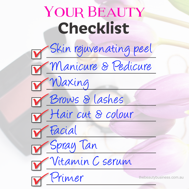 Holiday beauty Checklist