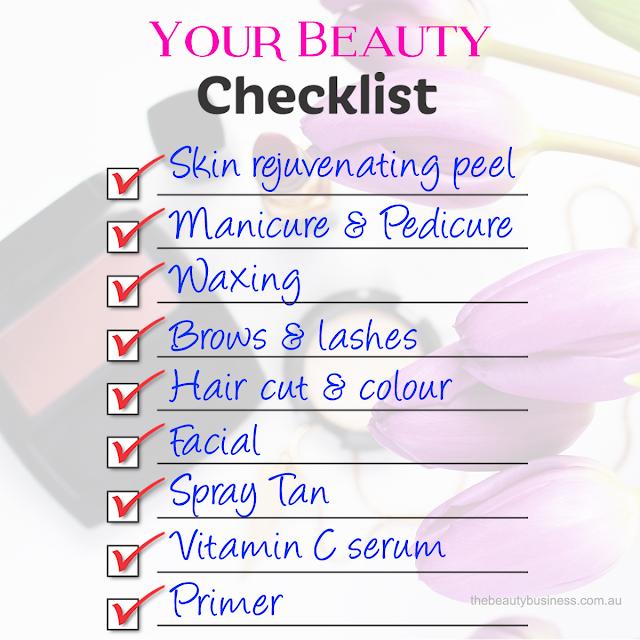 Holiday beauty Checklist