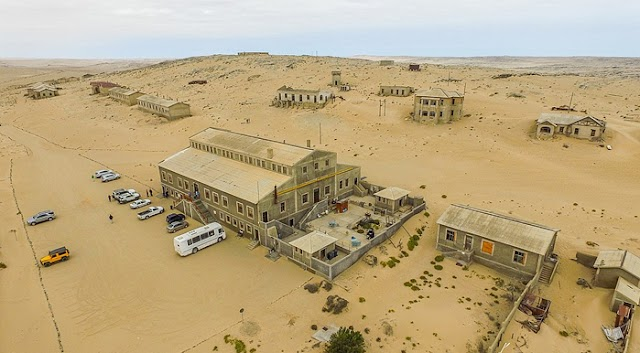 Ghost Town; Kolmanskop, the World's Richest City, Mined 1000 KG of Diamonds Over a Hundred Years Ago