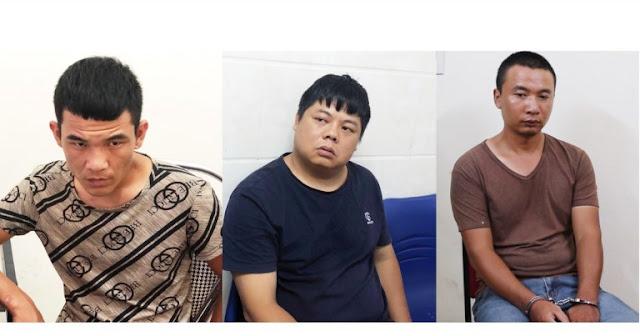 Nhóm người Trung Quốc làm giả hàng trăm thẻ ATM ở TP Vinh, Nghệ An