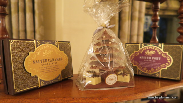 Bettys salted caramel chocolates