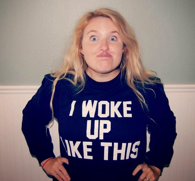 Beyonce I Woke Up Like This Sweatshirt