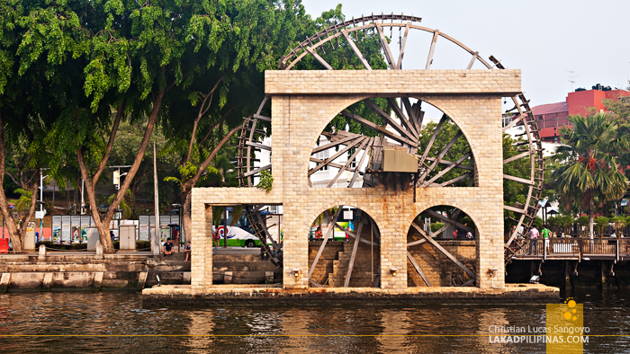 Melaka River Water Wheel