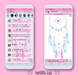 Wind Roses Theme For YOWhatsApp & RA WhatsApp By Natalia Luz