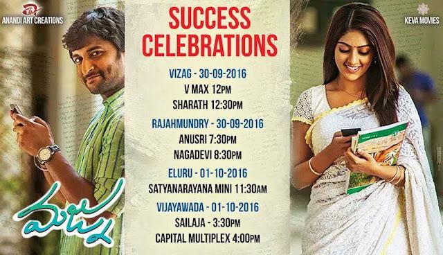 Majnu Success Celebrations Dates and Venues