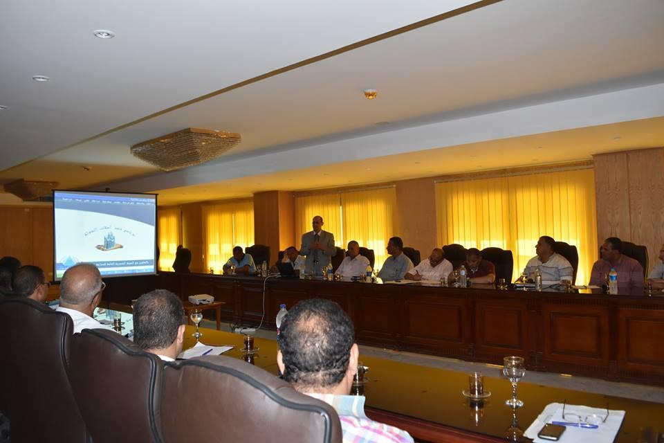بالصور لقاء تفعيل مشروع حصر أملاك الدولة بحضور محافظ الفيوم