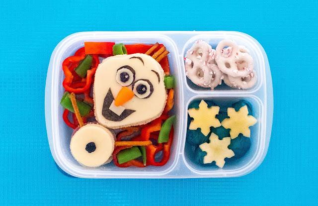 Disney Frozen Olaf School Lunch Recipe Idea