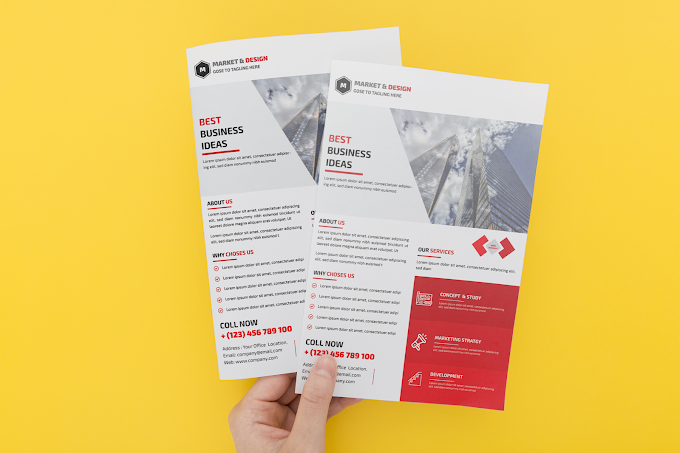 Free Corporate Business flyer design template