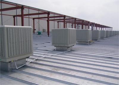 Chuyên cung cấp quạt công nghiệp và thiết bị làm mát