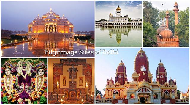 Pilgrimage Sites in Delhi