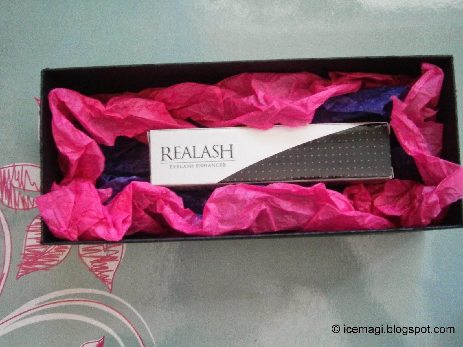 гел за мигли Realash