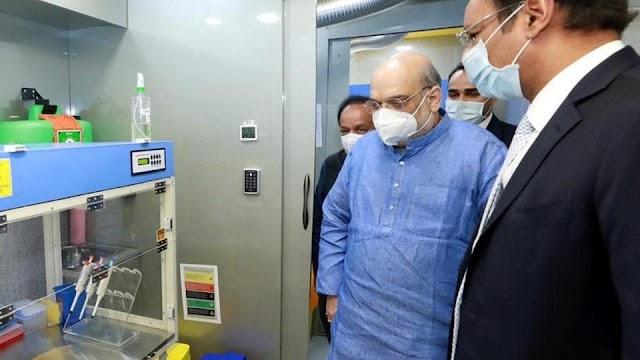 ગુજરાતમાં કોરોનાને કારણે ભયાનક પરિસ્થિતિ, ગૃહમંત્રીએ CM રૂપાણી સાથે બેઠક યોજી, હોસ્પિટલની તૈયારીઓની સમીક્ષાઓ