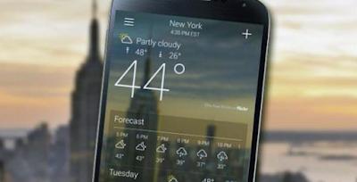 Aplikasi Terbaik Meramal Cuaca Bisa Pasang di Android