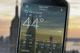 Aplikasi Terbaik Meramal Cuaca Bisa Pasang di Android [Update]