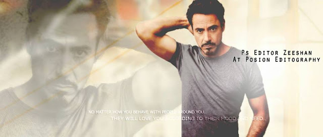 Robert Downey Jr Cover Photo