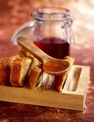 Torta de zanahoria y miel