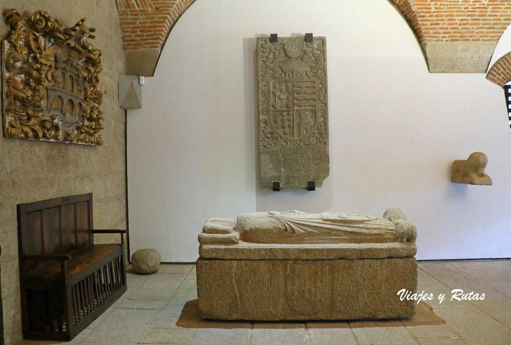 Zaguán del conventual de San Benito, Alcántara