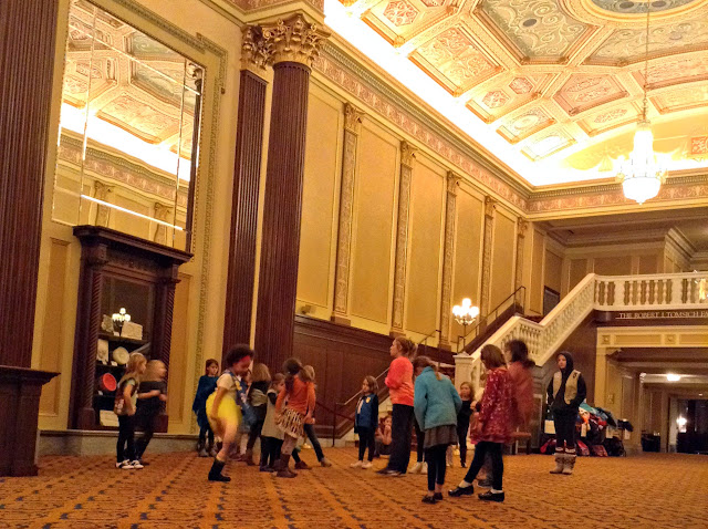 Girl Scouts at Playhouse Square | Acting workshop #gsneo