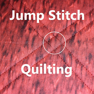 JUMP STITCH-QUILTING-FREEMOTION-EMBROIDERY-APPLIQUE