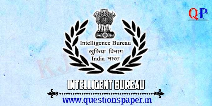 Intelligence Bureau (IB) Security Assistant / Exe Exam 2018 (Tier-I) 17-02-2019 Question Paper
