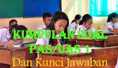SOAL UAS/PAS SEMESTER 1 BAHASA INDONESIA KELAS 3 DAN KUNCI JAWABANNYA SERTA KISI-KISI SOAL