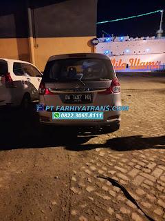 Pengiriman Mobil Suzuki Ertiga dari Banjarmasin tujuan ke Jakarta dengan kapal roro dan driving, estimasi perjalanan 5-6 hari..