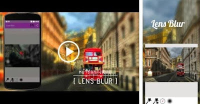 Aplikasi Bokeh Indonesia - Lens Blur