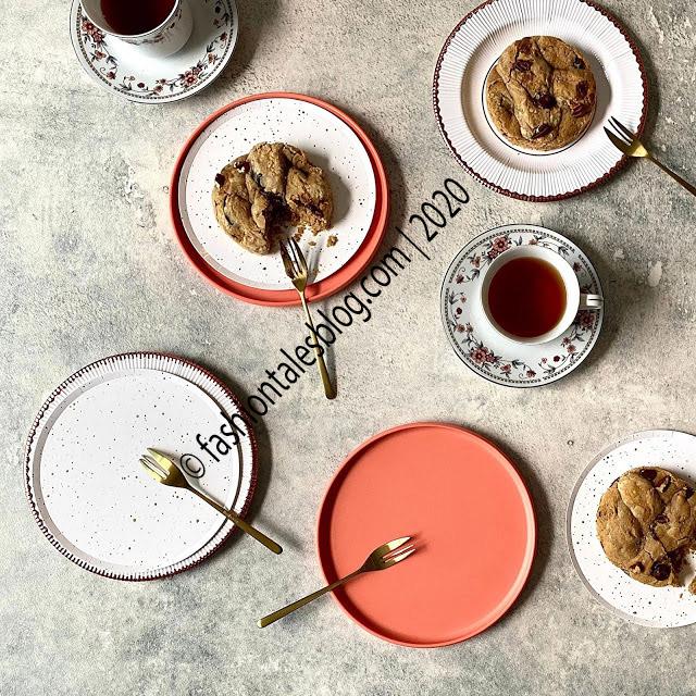 teatime flatlay