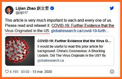 chinezii acuza ca americani i-au infectat cu coronavirus in mod premeditat