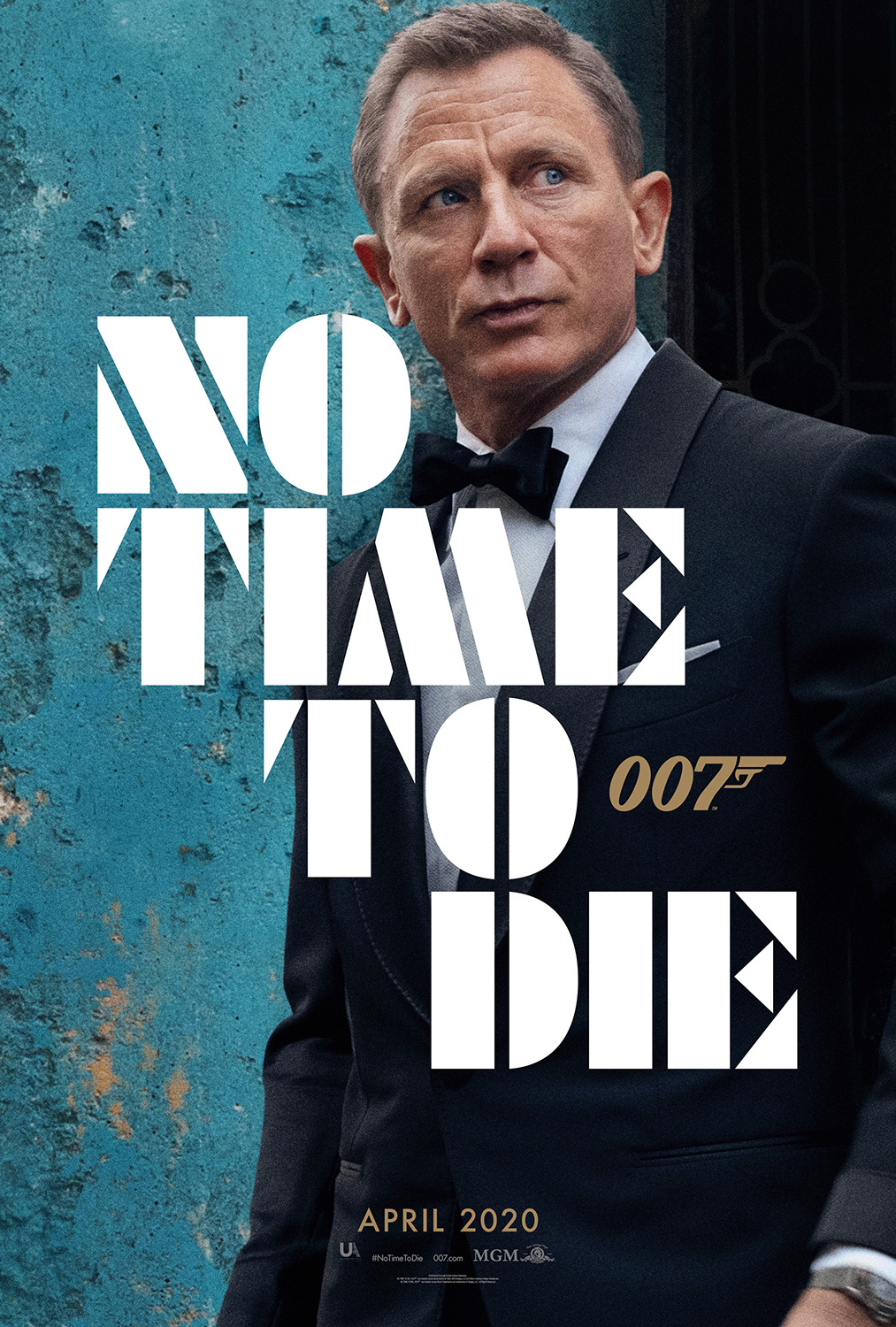 NO TIME TO DIE POSTER (#12 OF 12) - OKAY BHARGAV
