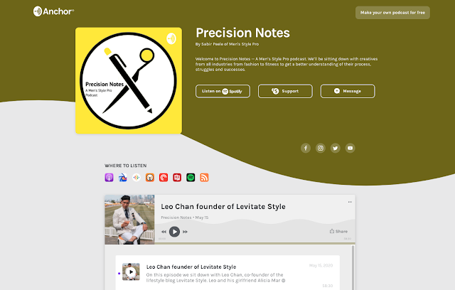 Precision Notes Podcast Interview with Leo Chan