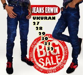 Jual celana panjang jeans pria online murah meriah kualitas oke