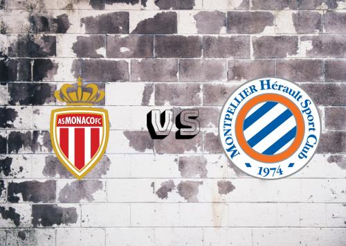 AS Monaco vs Montpellier  Resumen