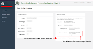 JAMB CAPS Admission Status 2019/2020: Accept or Reject Offer (PHOTOS)