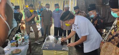 Walikota Tomohon Hadiri Peringatan Maulid Nabi di Masjid Nurul Iman dan Penandatangan Prasasti