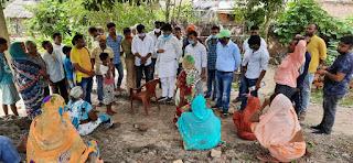 केंद्र सरकार द्वारा जारी कोरोना बचाव गाइड लाइन से भी ग्रामीणों को अवगत कराया