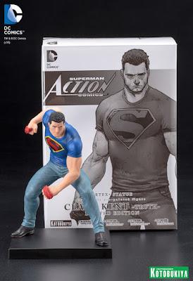 San Diego Comic-Con 2016 Exclusive DC Comics Clark Kent ARTFX+ Statue by Kotobukiya