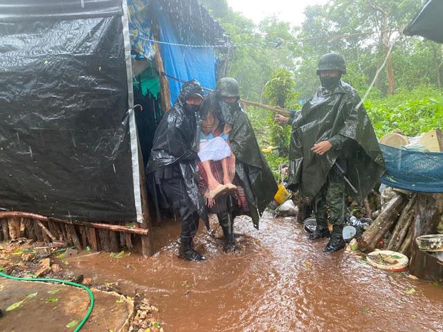 Ejército Mexicano aplica el Plan DN-III-E en Yucatán, Quintana Roo y Campeche por #Gamma