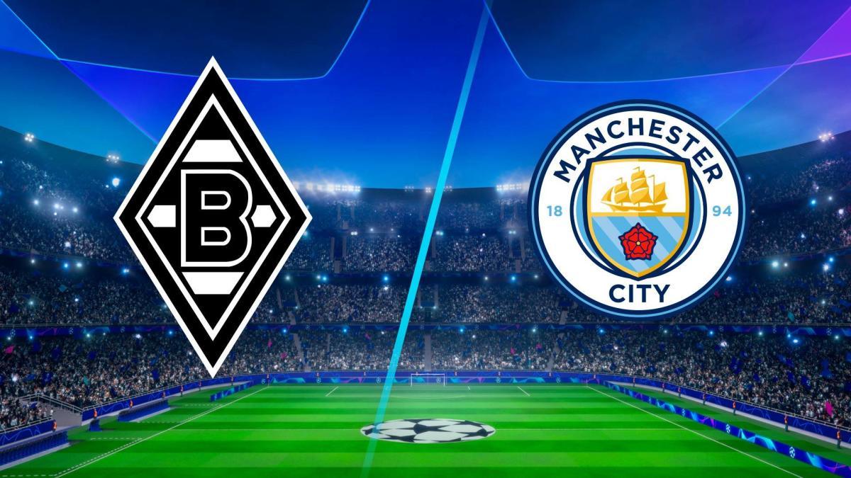 بث مباشر مباراة مانشستر سيتي وبوروسيا مونشنغلادباخ