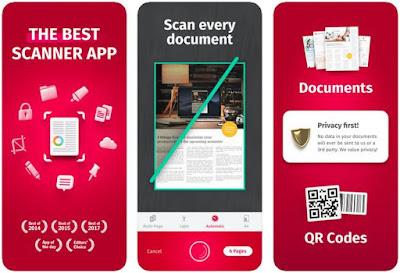 Aplikasi Scanner iPhone Gratis - ScanPro App