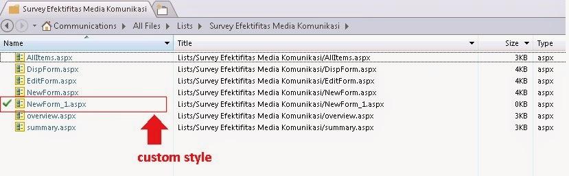 SharePoint 2013 Customize Survey Form