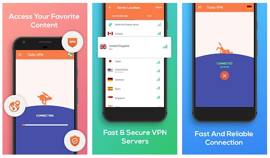 Download Turbo VPN MOD APK 3.0.3 (MOD VIP Unlocked) For Android